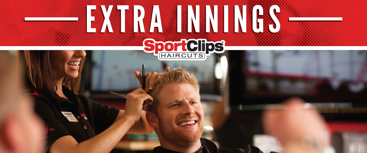 The Sport Clips Haircuts of German Church Shops Extra Innings Offerings